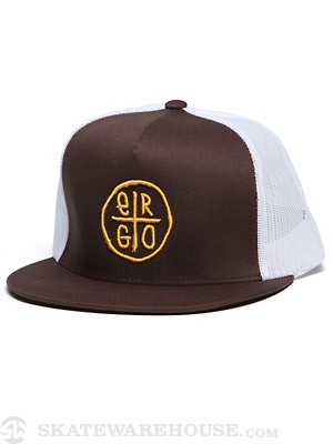 Ergo Plus Trucker Hat Brown Adjust.