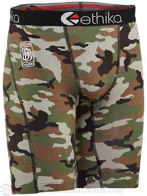 Ethika The Staple Boxer Briefs Woodland Camo XL