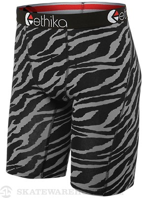 Ethika Staple Tiger Print Boxer Briefs Grey LG