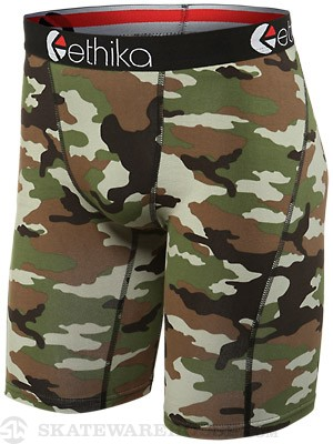 Staple Woodland Camo Boxer Briefs Army Camo LG