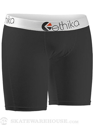 Ethika The Mid Boxer Briefs Black LG