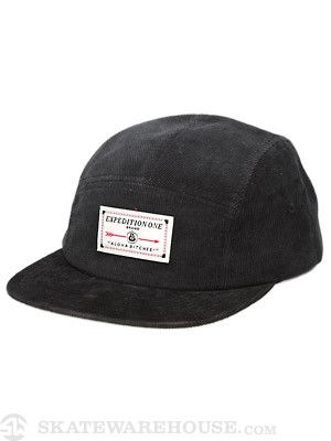 Expedition One Aloha Bitches 5 Panel Hat Black