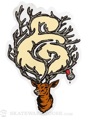 Expedition One Antler Sticker