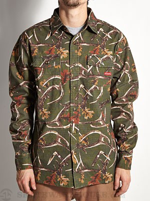 Expedition Buckwild Flannel Shirt Buck Camo SM