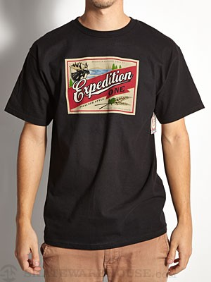 Expedition One Boozed Tee Black SM