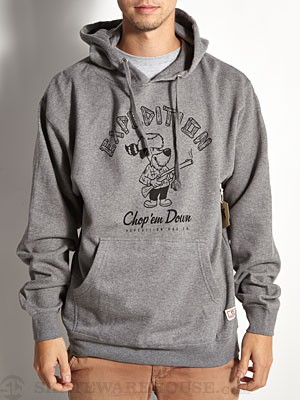 Expedition One Chop Hoodie Heather Grey MD