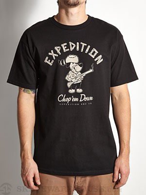 Expedition One Chop Tee Black MD