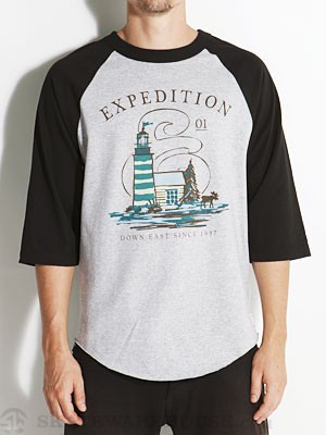 EXP-1 Down East 3/4 Sleeve Shirt Athletic/Blk MD