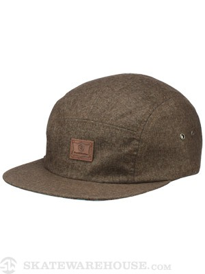 Expedition One Dock 5 Panel Hat Brown Adjust