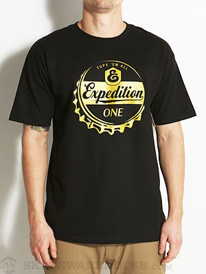 Expedition One Down Under Tee Black MD