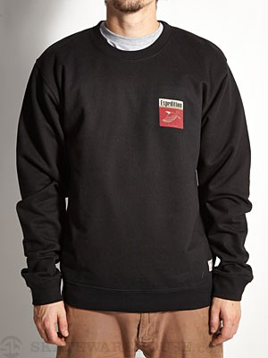 Expedition One Eagle Crew Sweatshirt Black SM