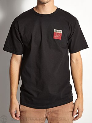 Expedition One Eagle Tee Black SM