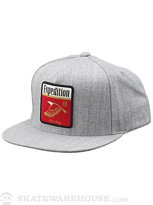 Expedition One Eagle Snapback Hat Ath. Heather