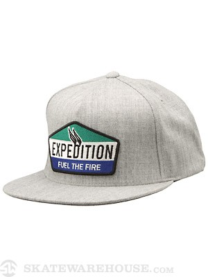 Expedition One Fuel Snapback Hat Ath. Heather