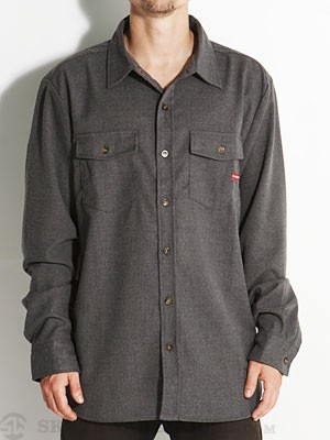 Expedition One Falmouth Woven Shirt Charcoal SM
