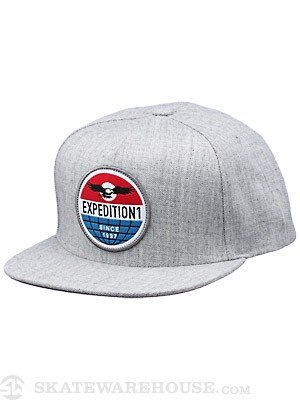 Expedition One Global Snapback Hat At Hthr Adj