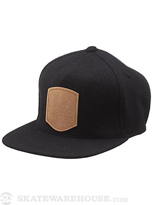 Expedition One Light It Up Strapback Hat Black