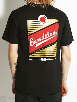 Expedition One Lager Tee Black SM