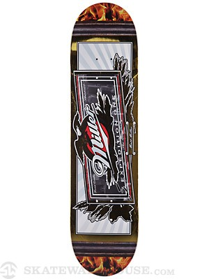 Expedition One Miller Beer Mirror Deck  7.9 x 31.5