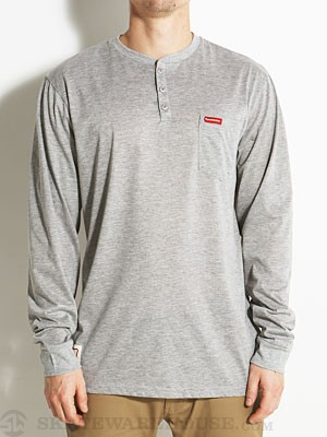 Expedition One Ramblin L/S Henley Ath. Heather SM