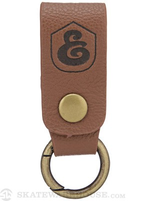 Expedition One Ramblin Keychain  Brown