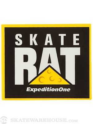 Expedition One Skate Rat Sticker