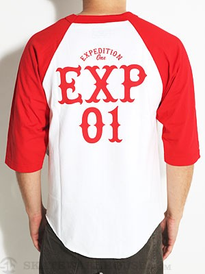 Expedition One Stacked 3/4 Sleeve Shirt Red SM