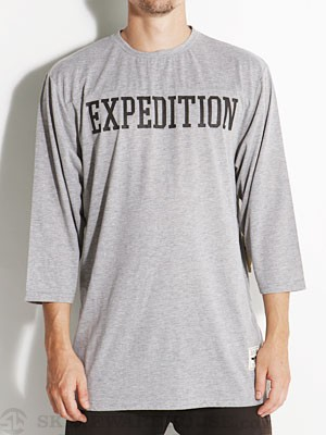 Expedition One Thorpe 3/4 Sleeve Ath Heather SM