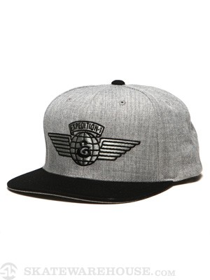 Expedition Wings Snapback Hat Athletic Heather