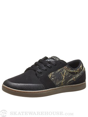 Fallen Hardy Torch Shoes Black/Tree Camo