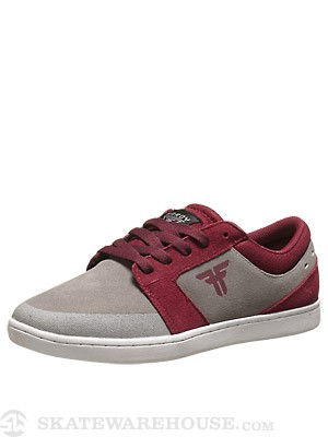 Fallen Hardy Torch Shoes Cement Grey/Oxblood