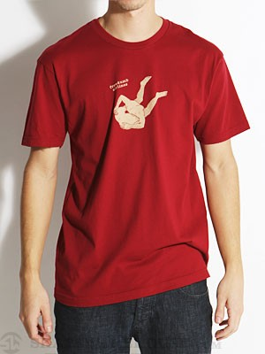 Freedumb Airlines Asshead Tee Red MD