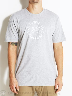Freedumb Airlines Stamp Tee Heather Grey MD