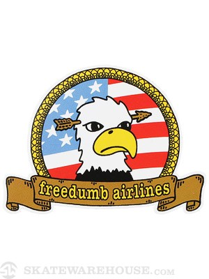 Freedumb Airlines Eagle Sticker
