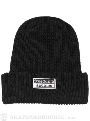 Freedumb Airlines Logo Beanie Black