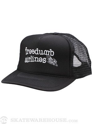 Freedumb Airlines Logo Mesh Hat Black