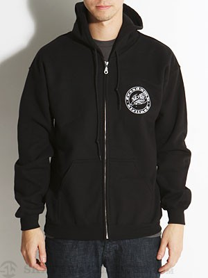 Freedumb Airlines Logo Hoodzip Black MD