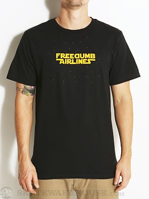 Freedumb Airlines Star Dumb Tee Black MD