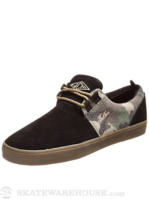 Fallen Curtin Capitol Shoes  Black/Camo