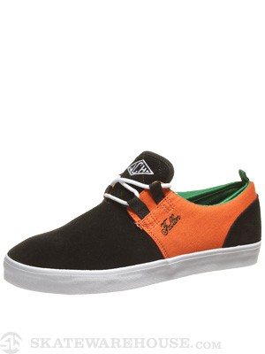 Fallen Curtin Capitol Shoes  Black/Hazard Orange