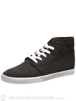 Fallen Daze Hi Shoes  Black/White