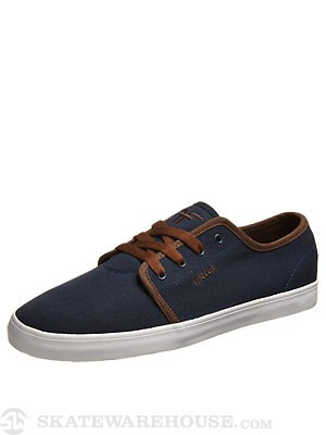 Fallen Daze Shoes  Midnight Blue/Saddle Brown