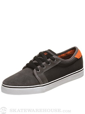 Fallen Thomas Forte Shoes  Pewter Grey/Black