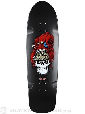 Flip Mountain Brigadier Met. Black Deck  9.5 x 32.75