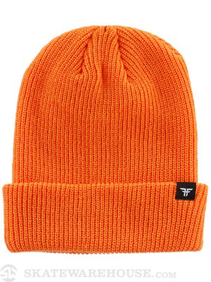 Fallen Wharf 3 Beanie Hazard Orange