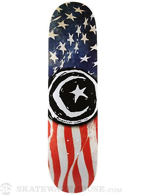 Foundation Star & Moon 'Merica Deck 8.5 x 32.875