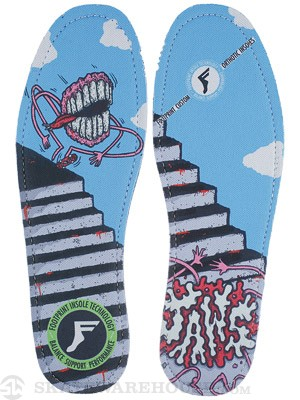 Footprint King Foam Hi Flat Insoles Jaws