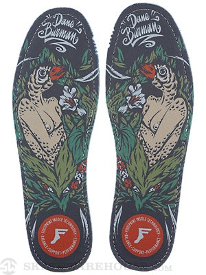 Footprint King Foam Hi Flat Insoles Dane Burman