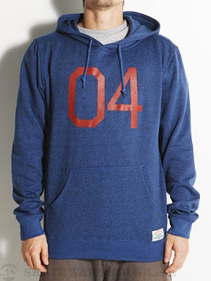 Fourstar Big 04 Pullover Hoodie Royal MD