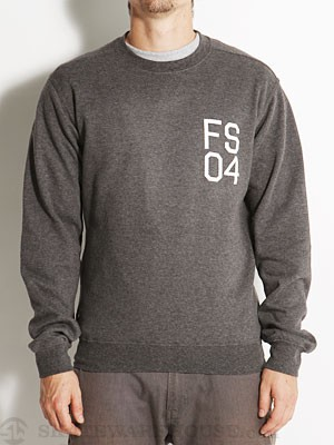 Fourstar FS04 Crew Sweatshirt Charcoal MD
